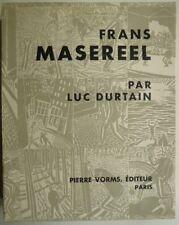 Luc Durtain Frans Masereel, Frans Masereel, arte, corte de madera,