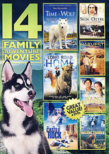 14 Family Adventure Movies (DVD, 2014, 4-Disc Set)  (New & Sealed)