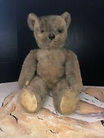"Vintage Lindee Toy Co. Jointed Teddy Bear With Mohair 21"" Tall"