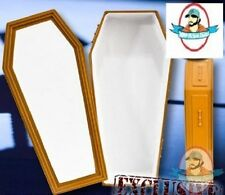 WWE Brown Coffin for Wrestling Figures