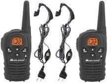 2 walkie talkie Midland Lxt118 26km con pinganillos cargador transformador 220V