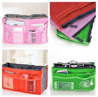 Women's Travel Insert Handbag Organiser Purse Large Liner Organizer Tidy Bag