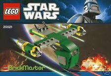 LEGO Star Wars Brickmaster 20021 Kopfgeldjäger Bounty Hunter Kanonenboot Halo