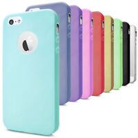 Cover TPU per iPhone 5 5s SE Custodia Protezione Silicone Opaco Morbida Custodia