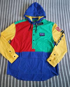 Polo Sport Ralph Lauren RLPC67 Saranac Lake Colour Block P-93 Hoodie M