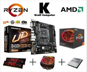 PC Bundle AufrüstKit Ryzen 7 3700X (8x4,4GHz) +Gigabyte B450M DS3H +16GB 3200MHz