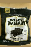 7 Bags Packs lot Licorice Candy Wiley Wallaby Australian Style 5oz  Ship FREE