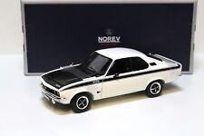1:18 Norev Opel Manta A GT/E 1975 white NEW bei PREMIUM-MODELCARS