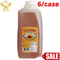 Honey Blend 5 lb. 6/Case Food Beverage Toppings Sweetener Bake Bulk Color Syrup