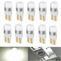 10pcs Canbus T10 LED Bulb W5W 3030 SMD White Car Width Interior Reading Lamp 12V