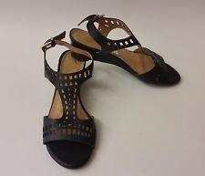 Diba London Shoes Sandals Black Cut-Outs Peep Toe Jessica Womens Size 7 M