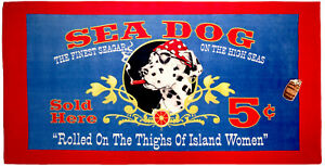 """30"""" x 60""""  """"Roled On The Things Of Island Women""""  Beach Towel 100% Cotton"""