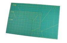 Schneidematte A1 60x90cm, A2 45x60, A3 30x45, beidseitig bedruckt, selbstheilend
