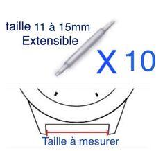 2 Anses //Tiges //Pompes spring bar  pour montre Barettes Ø  1,5 mm largeur 23 mm