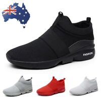 Men's Sneakers Slip On Plus Size Breathable Casual Outdoor Running Walking Shoes