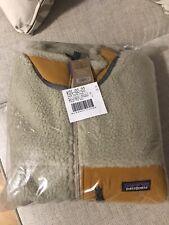 Patagonia Men's Classic Retro-X Fleece Jacket - Pelican w/Gold / S