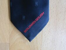 BENJAMIN Gough Possibly Printing Company & Paper Merchants Staff Issue Tie
