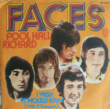 "7"" 1973 FACES (= ROD STEWART ) Pool Hall Richard MINT-?"