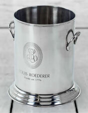 Louis Roederer Champagne Wine Ice Bucket In High Polished Chrome Plated 23 Cm H