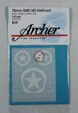 Archer 1/35 75mm GMC M3 Half-track Darby's Rangers in Salerno Italy WWII AR35324