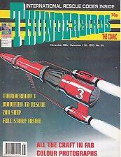 Thunderbirds #30 (28th November 1992) TV21 full colour reprint strips