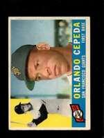 1960 TOPPS #450 ORLANDO CEPEDA VGEX GIANTS HOF  *SBA0712