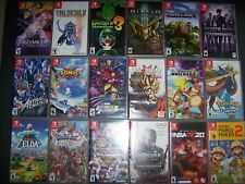 Replacement Case Box for Nintendo Switch Games ORIGINAL - MANY TITLES (NO GAME)