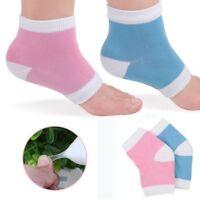 1Pair Silicone Moisturizing Gel Heel Socks Cracked Foot Skin Care Protectors