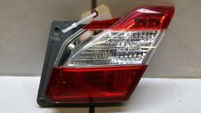 2012 INFINITI M37 M56 RIGHT PASSENGER SIDE INNER TAIL LIGHT LAMP ASSEMBLY