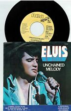 MFD IN USA PROMO JH-11212 PICT SLEEVE 45 RPM ELVIS PRESLEY : UNCHAINED MELODY