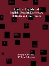 Russisch-Deutsch und Englisch-Russisches Wörterbuch von Radar und Elektronik...