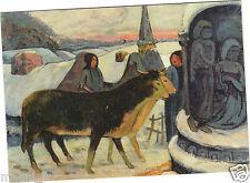 Art - Nuit Weihnachts- von paul Gauguin