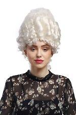 Perruque Femmes Carnaval Historique Baroque blanc Marie Antoinette