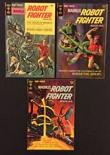 MAGNUS ROBOT FIGHTER #20 22 24 Comic Books GOLD KEY Silver Age 1967 Very Fine