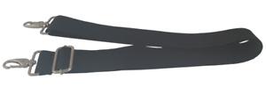 Shoulder bag strap for laptop sports bag metal black adjustable replacement UK