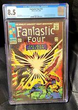 Fantastic Four #53 CGC 8.5 Marvel, 2nd Black Panther, 1st appearance Klaw!🔥
