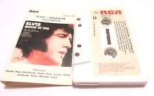 ELVIS PRESLEY ROCK N ON 1973 CASSETTE TAPE