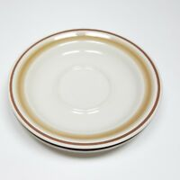 Hearthside Water Colors Saucers Stoneware Set of 2