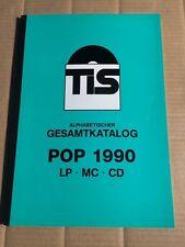TELDEC IMPORT SERVICE - TIS -  ALPHABETISCHER GESAMTKATALOG POP 1990 - LP MC CD