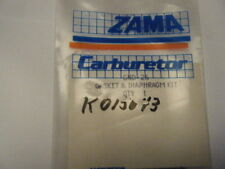 NEW ZAMA GASKET AND DIAPHRAGM KIT    PART NUMBER GND-26