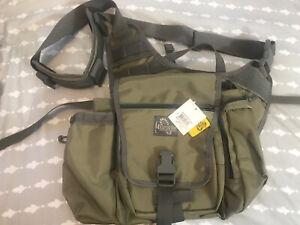 Maxpedition Jumbo K.I.S.S Versipack Khaki Foliage Sling Tactical Bag NWT