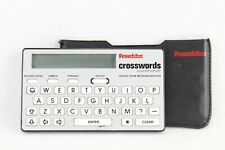 Franklin Crosswords Puzzle Solver Cw-40 with Wallet Case & Battery