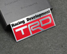 Aluminium TRD Racing Development Car Trunk Emblem Accessories Badge for Toyota