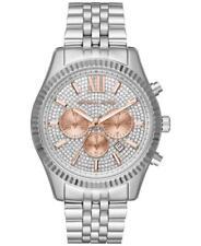 MICHAEL KORS MK8515 Lexington Crystal Pave Dial Ladies Chronograph Wrist Watch