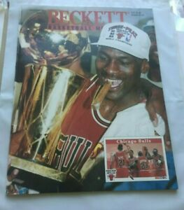 Beckett Basketball Monthly September 1993 Vol. 4 No. 9 Issue #38 Jordan on Cover
