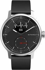 Withings ScanWatch Hybrid Smartwatch with ECG, Heart Rate & Oximeter 42mm Black