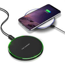 15W Qi Wireless Charger Fast Charging Pad Mat For Samsung S20 S10 S9 Note10 9 8