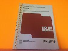 Phillips 9499-443-02502 Portable Four Trace Oscilloscope Pm3264