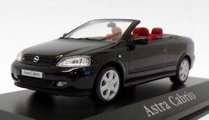 Minichamps 1/43 scale MC12919 - Opel Astra Cabrio - Black