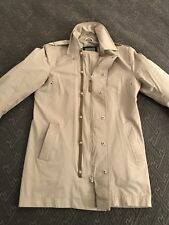 MACKAGE Trench Rain Coat Beige Women Size 38  M  Medium